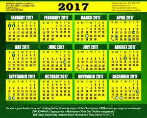 Calendar December 2017 January 2018 South Africa December 2017 Calendar South Africa Printable Calendar