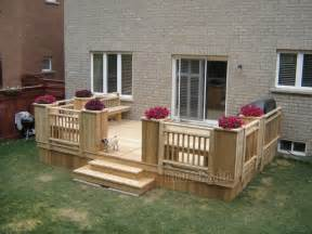 Staining A Patio Low Deck Designs Low Decks Low Deck Gallery