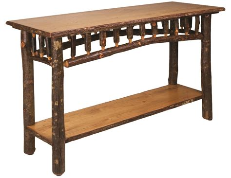 Country Sofa Table by Country Sofa Table Hickory Furniture Lodge Craft