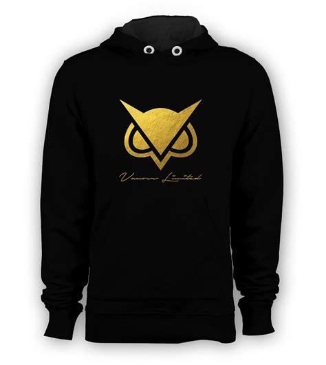 Hoodie Vanoss 10 vanoss owl hodini gold logo pullover hoodie vanossgaming youtuber sweatshirts s 3xl black
