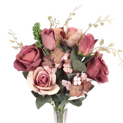 large vintage shabby chic artificial wedding bouquet flowers foam fake silk ebay