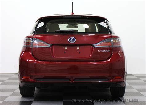 lexus hybrid ct200h 2013 2013 used lexus ct 200h certified ct200h hybrid hatchback