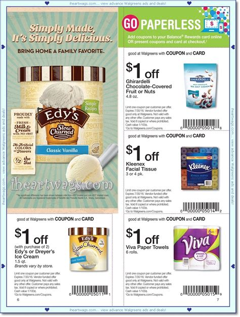 walgreens picture book i wags ad scans july 2016 coupon book 06 26 07 30