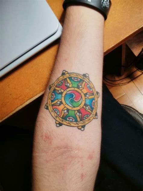 dharma tattoo neo polytheist buddhist tattoos