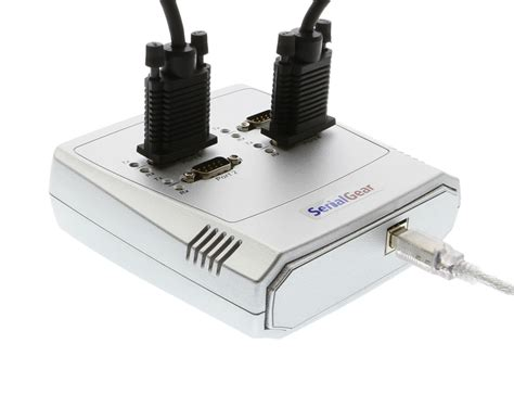 Converter Usb To Serial Port 4 port rs 232 usb to serial adapter data box