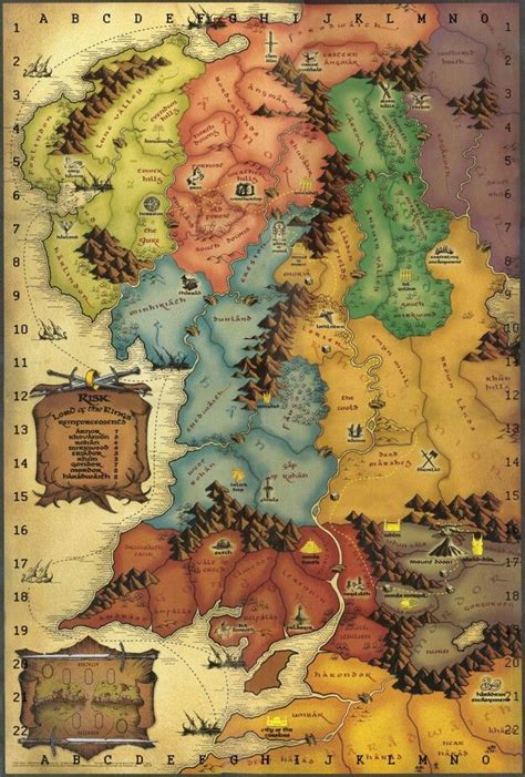 lord of the rings middle earth map lord of the rings map lotr middle the