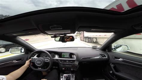 Audi B8 Interior by Audi B8 5 S4 Resonated X Pipe Interior Sound