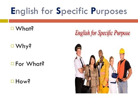 For Specific Purpose for specific purposes ppt