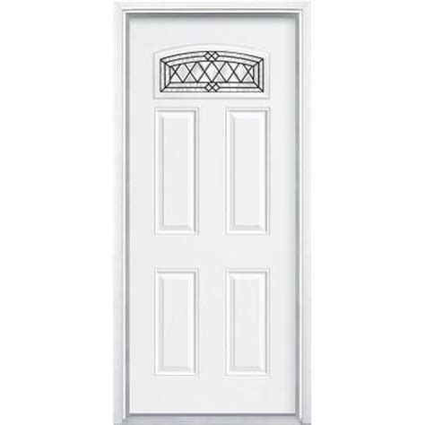 home depot paint for metal doors masonite 36 in x 80 in halifax camber fan lite primed