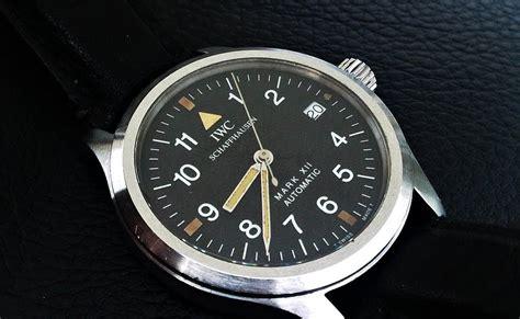 Jam Tangan Iwc Schaffhausen jam tangan second sold iwc flieger xii