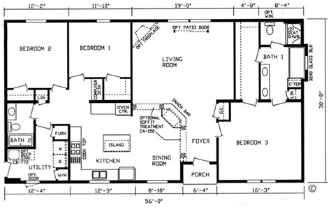 1500 sq ft bungalow floor plans 1500 square foot bungalow house plans escortsea