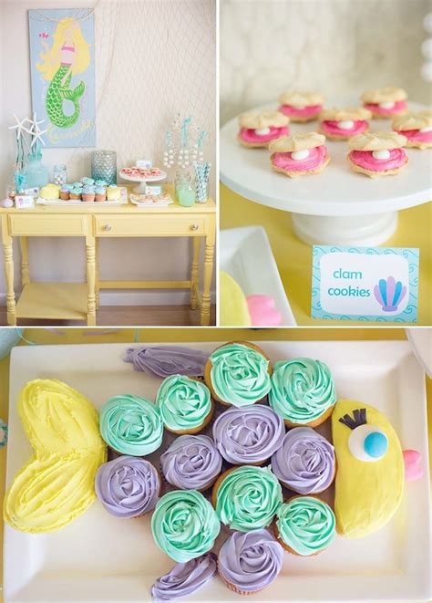 cute themes for birthday parties mermaid under the sea themed birthday party with so many