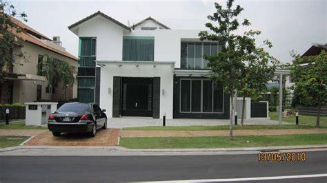 Backyard Bungalow House For Sale Sentosa City West Singapore Ocean Drive