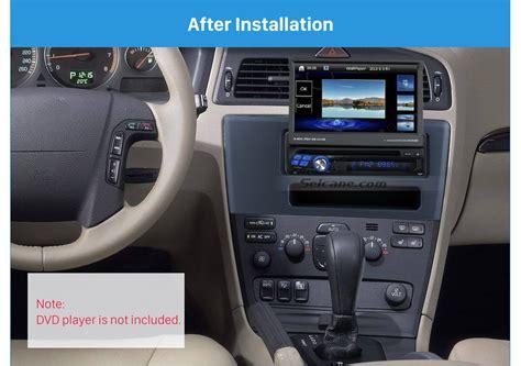 airbag deployment 2002 volvo s60 navigation system f 252 r volvo xc70 v70 s60 1994 2004 auto radio rahmen blende dash panel trim kit ebay