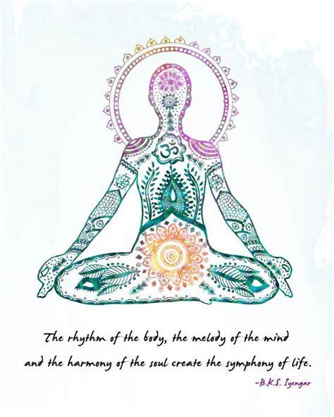 printable yoga quotes yoga art lotus pose 8x10 metallic print iyengar quote
