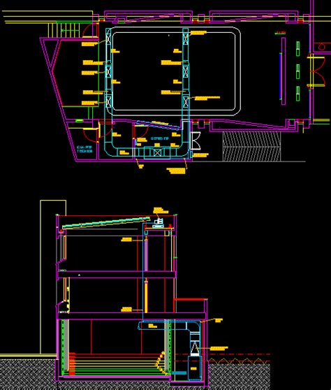 2d Floor Plans Air Conditioning Installation Dwg Detail For Autocad