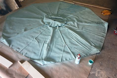 How To Paint A Patio Umbrella With Diy Pete Paint Patio Umbrella