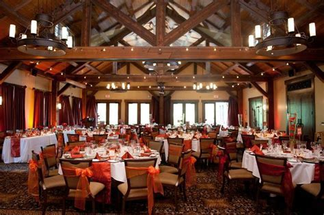 Canmore Silvertip wedding reception in The Pavilion; burnt