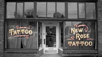 portland tattoo parlor new rose tattoo