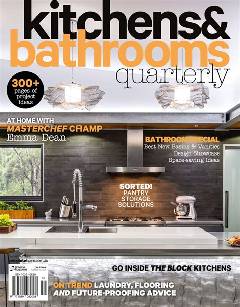 kitchen magazine kitchens bathroom quarterly universal magazines