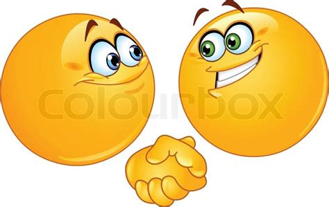 libro smileys people zwei emoticons h 228 ndesch 252 tteln stock vektor