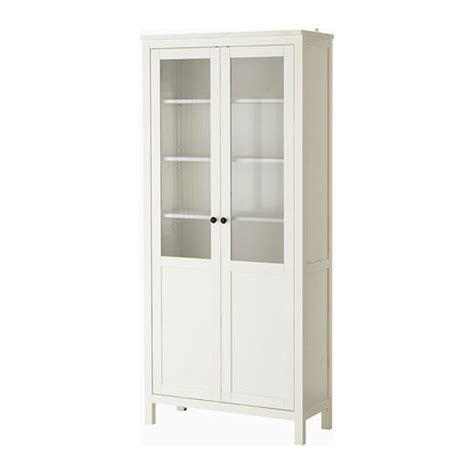 ikea hemnes glass door cabinet hemnes cabinet with panel glass door white stain ikea