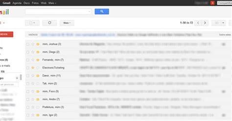 iphone gmail layout google apresenta o novo layout do gmail not 237 cias techtudo