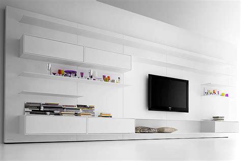 wohnzimmerverbau modern die moderne wohnwand sch 214 ner wohnen