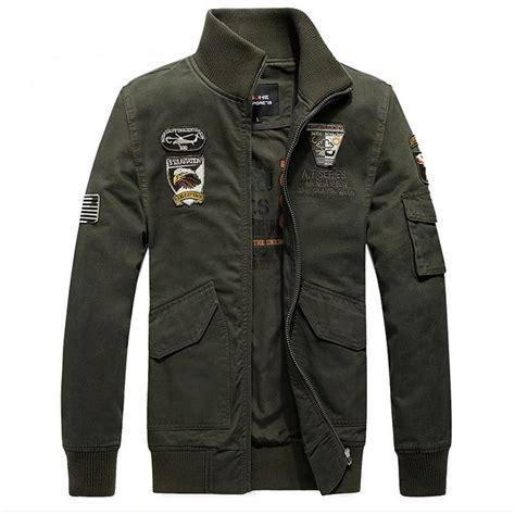 Jaket Bomber Army Ziper s air jacket ma1 army pilot bomber jacket casual