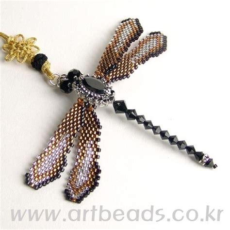 beaded dragonfly 646 best images about jewelry animals figures flowers