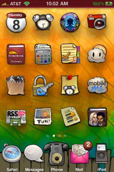 iphone themes names some of the coolest iphone 4 themes 50 pics picture