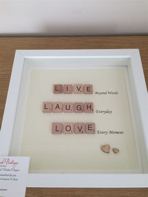 ef in scrabble scrabble family frames by mybelovedboutique on etsy