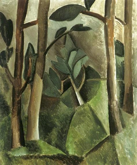 Pablo Picasso Cubism Interested In Residential Garden