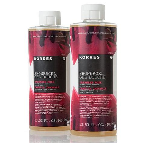 Japanese Shower Gel by Korres Japanese Shower Gel Duo 7369998 Hsn
