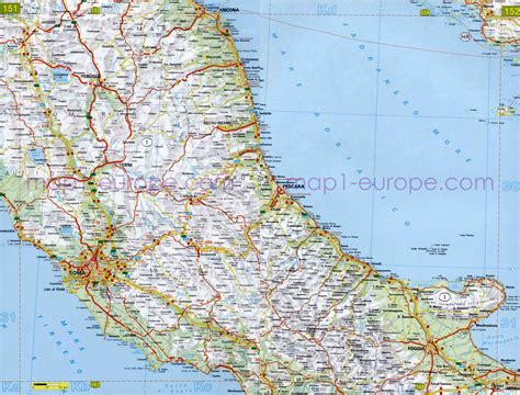 printable road map of italy in english detailed map of italy related keywords detailed map of