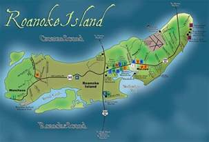 the lost colony of roanoke the 1st settlement on