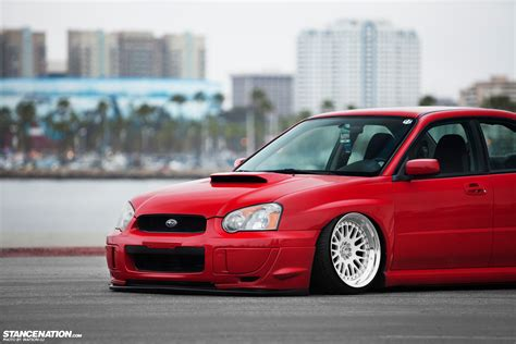 stanced subaru hd simplicity is beauty tucker s subaru wrx