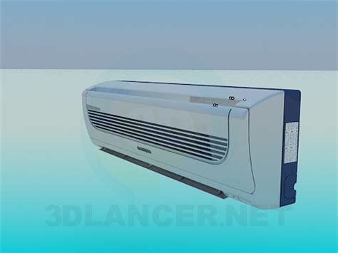 Ac Samsung Model As05tulnxea 3d model samsung air conditioning for free
