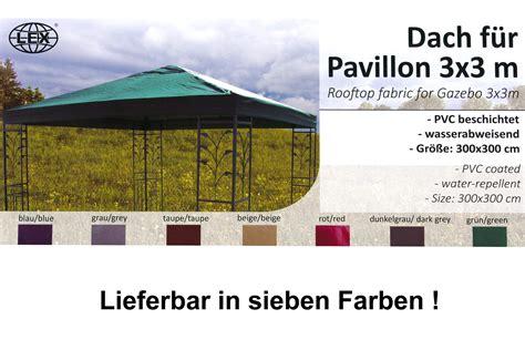 pavillon 3 x 3 m pavillon ersatzdach 3 x 3 m taupe braun dach pavillon