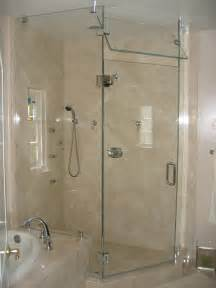 bathroom glass shower door with walk in shower kits and