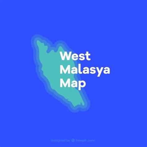 malaysia map vector free peninsular malaysia map vector free