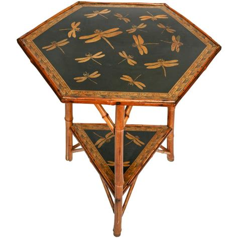 Dragonfly Desk L by Whimsical Bamboo Quot Dragonfly Quot Table At 1stdibs