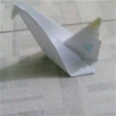 Wikihow Origami Swan - how to fold a traditional origami swan 13 steps with