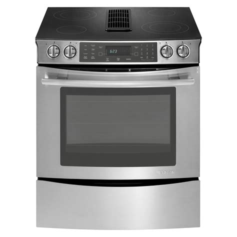 oven without cooktop jenn air jes9800cas 30 quot slide in electric downdraft range