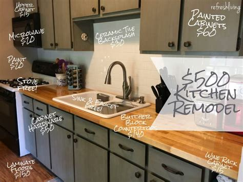 kitchen cabinets update ideas on a budget updating a kitchen on a budget 15 awesome cheap ideas refresh living