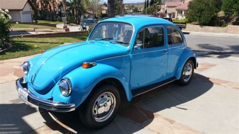 volkswagen bug light blue seller of cars 1971 volkswagen beetle