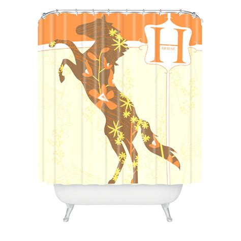 horse shower curtain sets mister horse shower curtain by deny designs