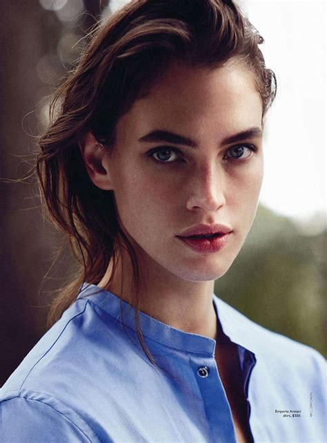 The Model Eyebrow 4 by Crista Cober Photographed By Will Davidson For Vogue
