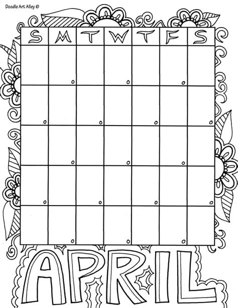 doodle alley calendars free coloring pages doodle alley
