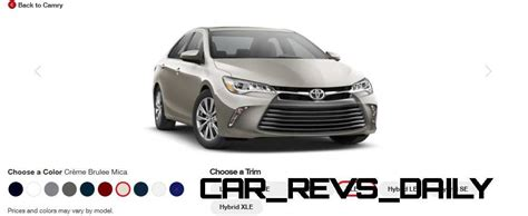 2015 Toyota Camry Xle Price 2015 Toyota Camry Hybrid Price Colors Xle Mpg Car